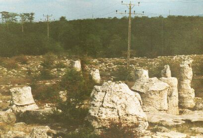 The stone forest near Varna