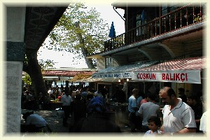 Fish restaurants in Anadolu Kavagi