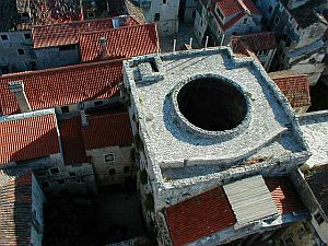 Split: The Vestibule as seen from above