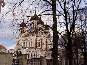 Tallinn: The Alexander Nevski-Cathedral