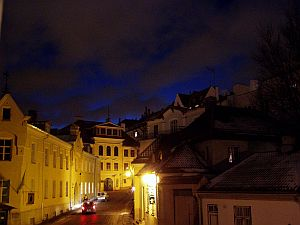 Tallinn at night has its charme as well