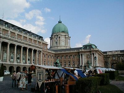 Budapest: The Royal Palace atop Castle Hill