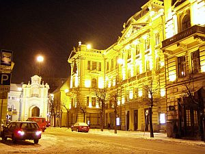Vilnius at night is worth a walk