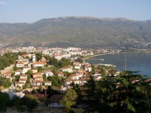 A view from the fortress over Ohrid