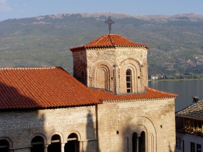 Ohrid: Sveti Sofija Church in the heart of the old town
