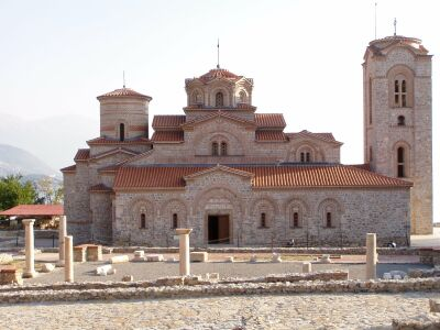 Ohrid: The newly restored church of Sv Pantelejmon