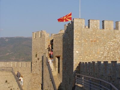 The citadel of Ohrid