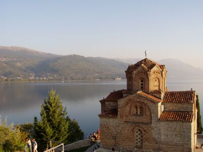 Ohrid: Kaneo Church
