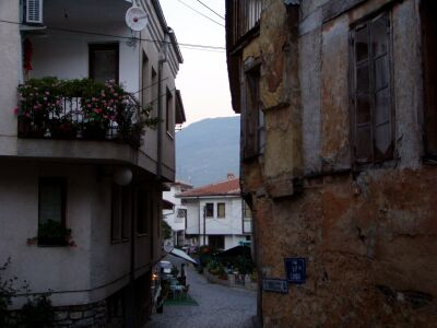 Inside the old town of Ohrid