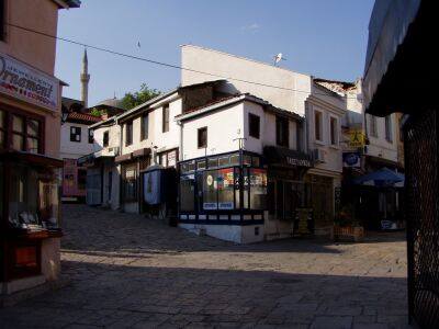 Skopje: The heavily Turkish influenced old district Charshija