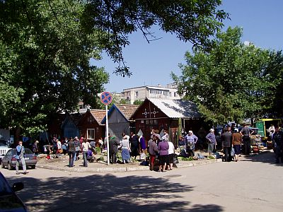 Market day in Orhei