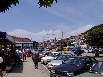 In the centre of Ulcinj