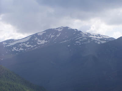 Vatra Dornei: Rodna Mountains near the Prislop Pass