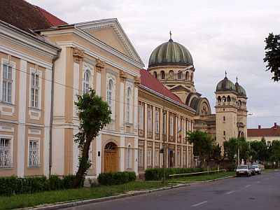 Satu Mare: The large Orthodox Church of the Archangels