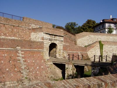 Belgrade: One of the gates of Kalemegdan Citadel