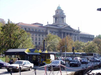 Belgrade: The Serbian Parliament