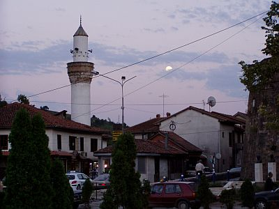 Novi Pazar: The small mosque opposite the fortress