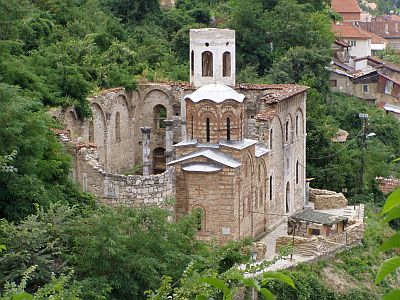 Prizren: Destroyed Serbian monastery - now an army post