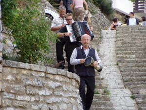 Music's in the air in Ohrid