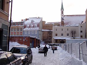 Snow desaster in Riga