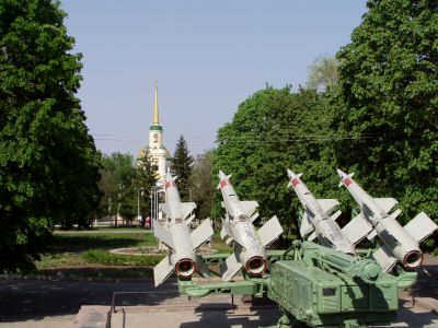 Dnepropetrovsk: I wonder if it's coincidence that the rockets are aimed at the church