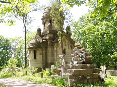 The incredible Litchakiv cemetary