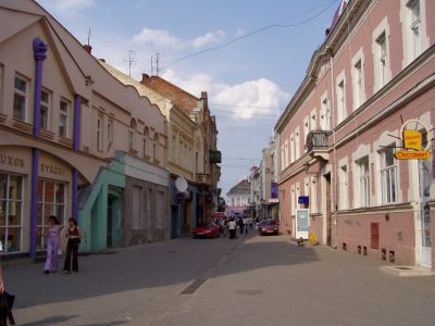 Centre of Uzhgorod